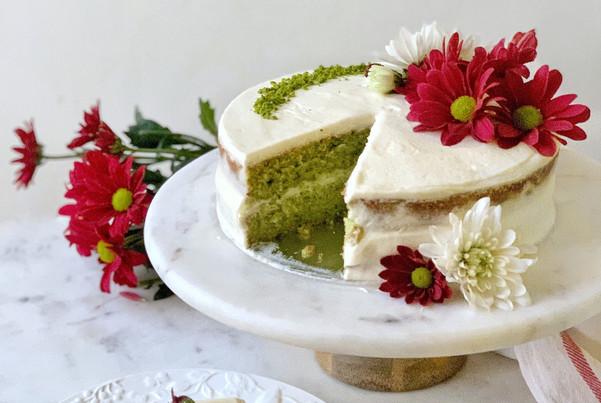 CAMEL MILK PISTACHIO CAKE