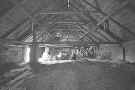 Přestavba stodoly na bydlení