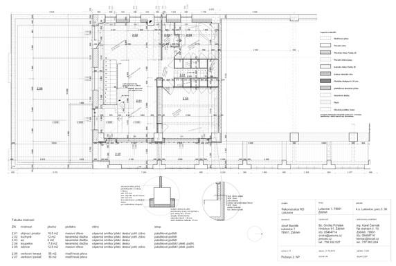 Dokumentace stavby - 2.NP_Byt