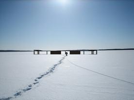 Útulna za polárním kruhem