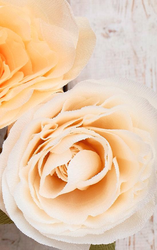 Бумажные цветы в Санкт-Петербурге