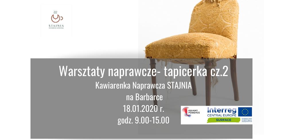 WARSZTATY NAPRAWCZE- TAPICERKA CZ.2