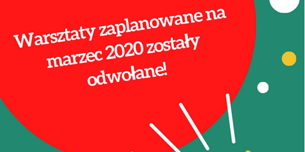 warsztaty na marzec 2020 ODWOŁANE