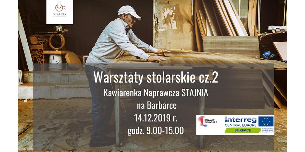 Warsztaty stolarskie cz.2