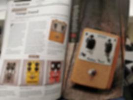 Brantone electronics vintage tweed overdrive