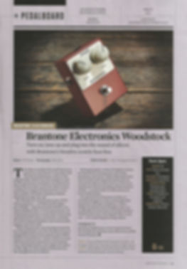 Brantone electronics woodstock fuzz