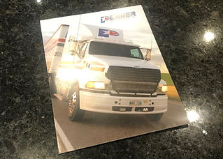 Penner Trucking Presenation Folder