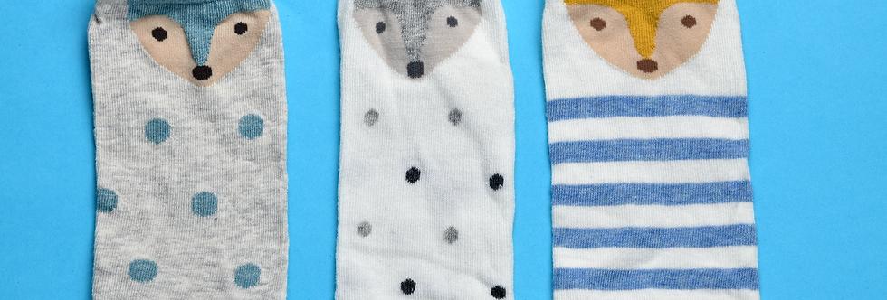 Fox.kids.socks