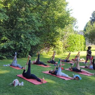 Open air Pilates 4/7/19