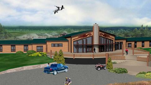 Hôtel à Waskaganish pour promoteurs Cree
