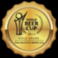 World Beer Cup 2016 Gold Award