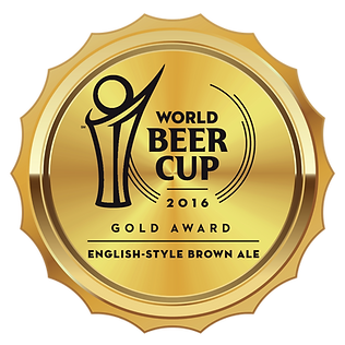 World Beer Cup 2016 Gold Award