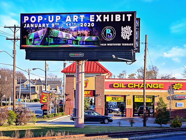 Pop Up Art Exhibit