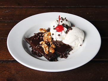 Darryl's Hot Fudge Brownie