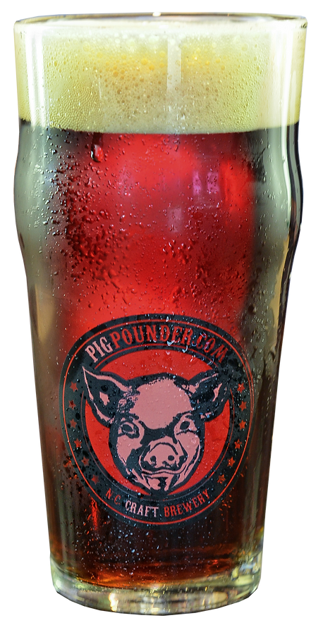 Glass of Pig Pounder