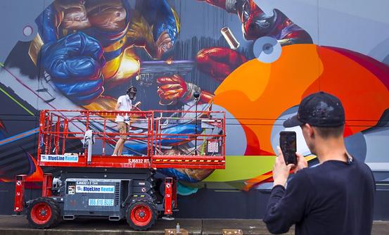 international mural artists