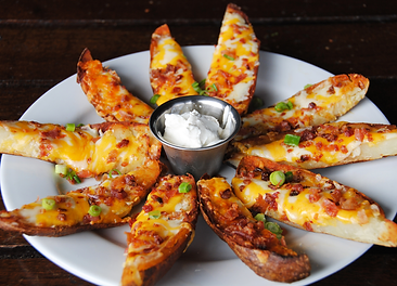 Darryl's Bacon & Cheese Tater Skins