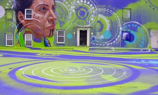 Guilford Green Community Center mural
