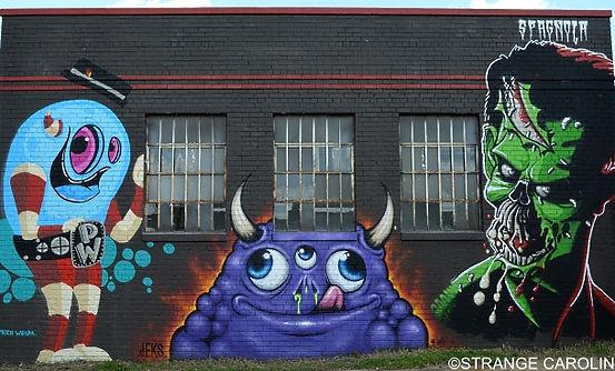Tracks Bazaar murals