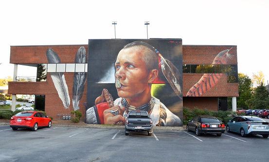 lumbee mural