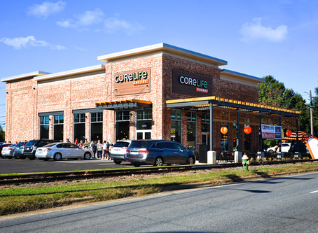 "New CoreLife Eatery in Greensboro Provides Delicious ""Real Food"" in Vibrant Surroundings"