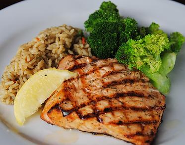 Darryl's Grilled Salmon