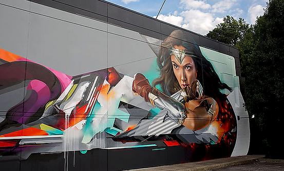 Mural showcase
