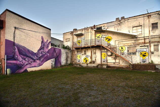 special thanks to: jen graf and ryan saunders  purple hands are by taylor white. curating credit: ryan saunders