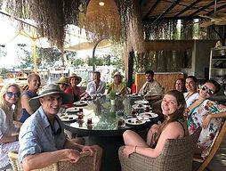Afternoon tea time _ the island was a hi