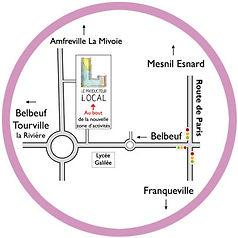 accès magasin Belbeuf