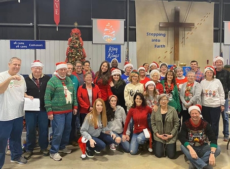 Rotary Volunteers at Toy Troopers