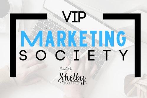 VIP Marketing Society Membership