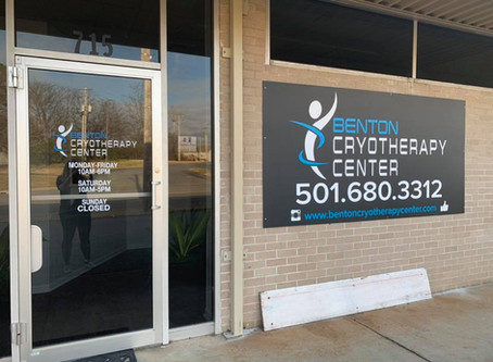 Early Morning at Benton Cryotherapy Center