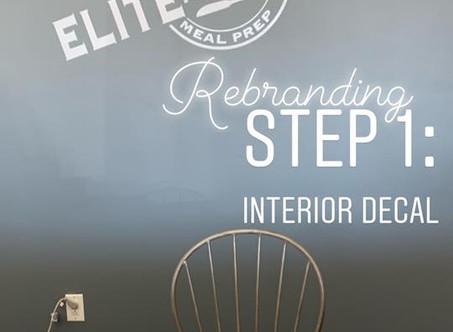Rebranding is a Process