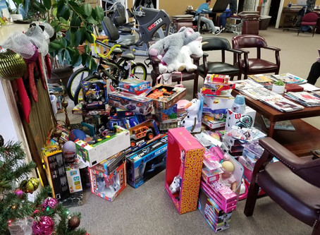 ICYMI- Carson Physical Therapy Toy Drive