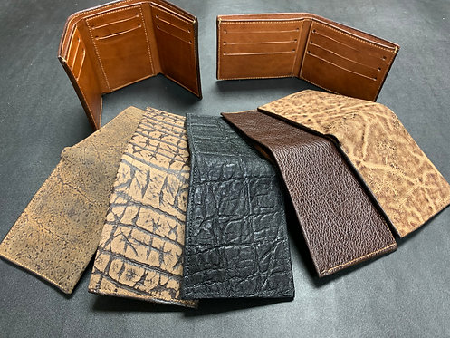 Trifold Wallet- Exotic Options