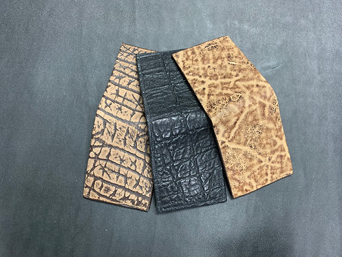 Front Pocket Wallet- Exotic Options