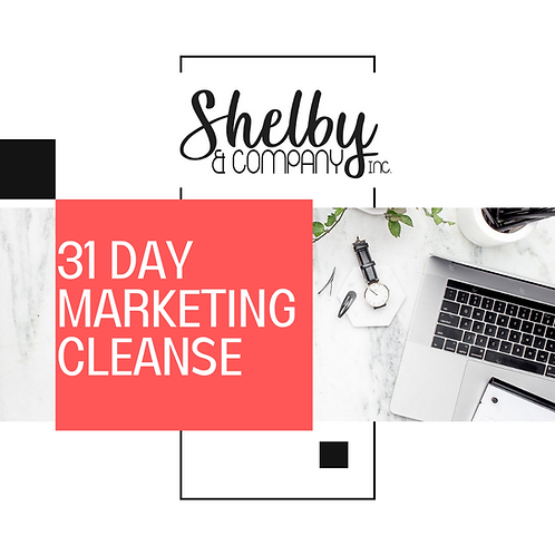 31 Day Marketing Cleanse