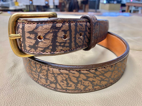 Exotic Belts: Cape Buffalo