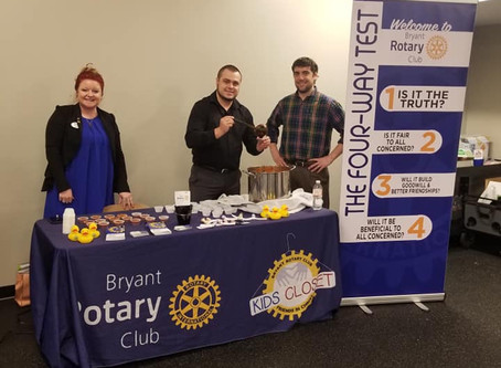 Bryant Rotary Competes in Chili Cook-Off