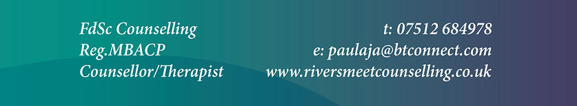Riversmeet Counselling, Paula, Annels, Odiham, Hook, Fleet, Farnham, Basingstoke, Alton