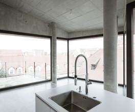 Modernes Apartment mit Küche