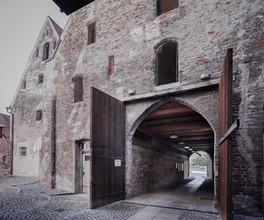 Heiligeistspital-Stadel-Passage-Rückgebäude