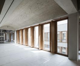 Holz-Fensterband Grundschule München