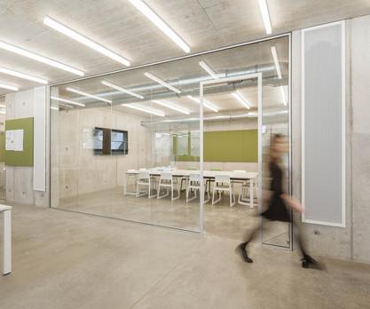 ALN Großraumbüro Meetingraum