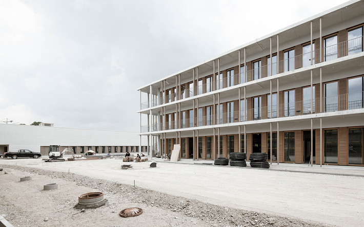 Rohbau Grundschule in München