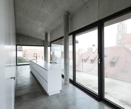 Apartment-Küche in Landshut
