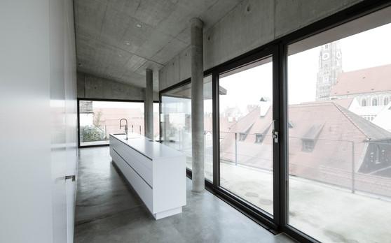 Apartment aus Sichtbeton Landshut