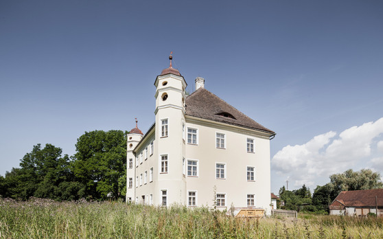 Ansicht Schloss Deutenkofen
