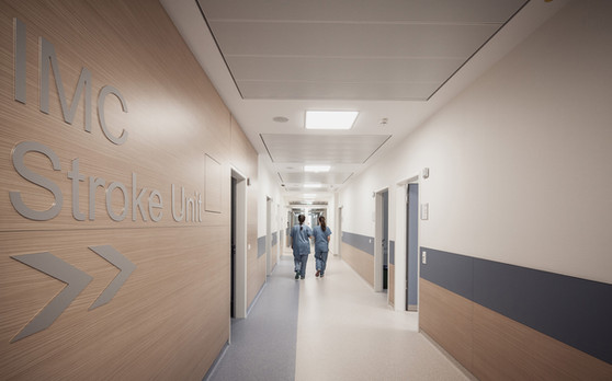 Klinikum Landhut-Flur IMC Stroke
